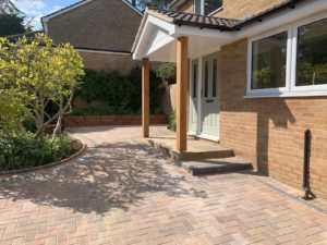 block paving patio in Bicester