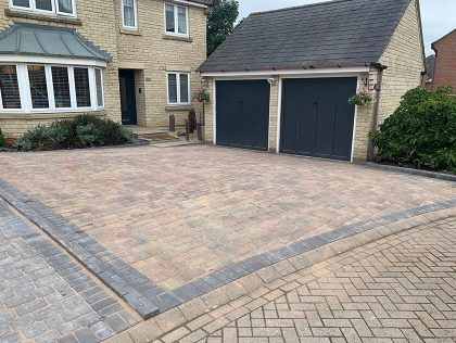 block paving driveways in bicester